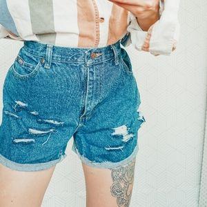 Vintage Cotton Cut Off Shorts 10